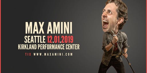 Max Amini Returns to Seattle