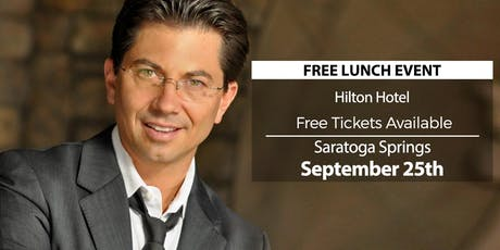 (FREE) Millionaire Success Habits revealed in Saratoga Springs by Dean Graziosi tickets