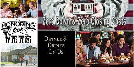 VA Homebuying Dinner/Workshop By Veterans for Veterans! tickets