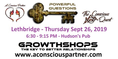 The Conscious Quest - Powerful Questions tickets