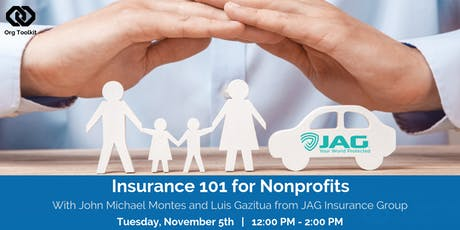 Insurance 101 for Nonprofits tickets
