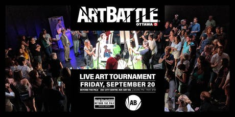 Art Battle Ottawa - September 20, 2019 tickets