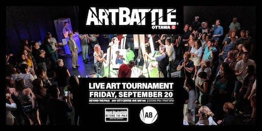 Art Battle Ottawa - September 20, 2019