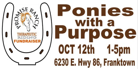 Ponies with a Purpose Fall Carnival tickets