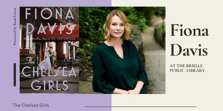 Fiona Davis at the Brielle Library  tickets