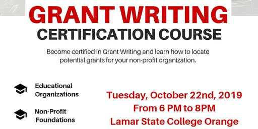 Grant Writing Certification Course
