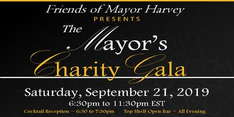 The Mayor's Charity Gala - September 21, 2019 tickets