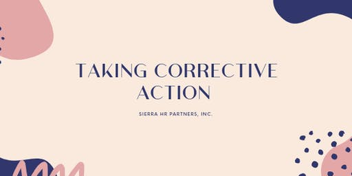 Leadership Academy: Taking Corrective Action