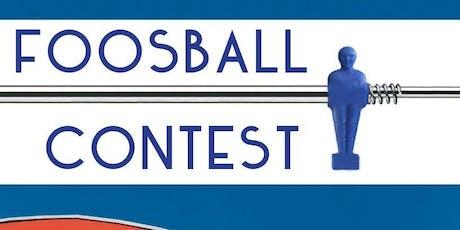 Foosball Contest tickets