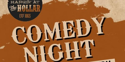 Hanging at the Hollar Comedy Night Oct 19th.
