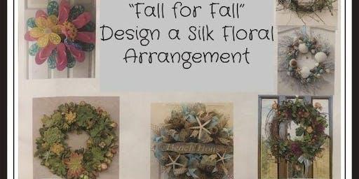 Fall for Fall - Design a Fall Silk Wreath