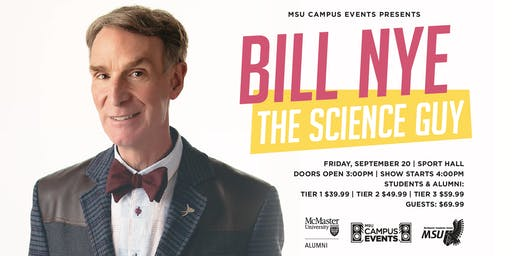MSU Campus Events Presents: BILL NYE