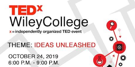 TEDxWileyCollege tickets