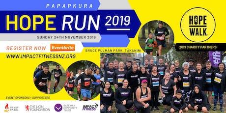 Papakura Hope Run 2019 tickets