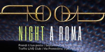 TOOL + A PERFECT CIRCLE a Roma  | TOOL NIGHT Tribute 2019
