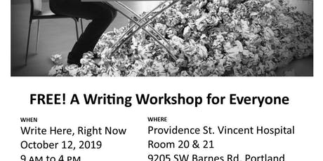 Write Here, Right Now tickets