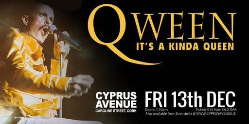 QWEEN - the definitive tribute to Freddie Mercury & Queen