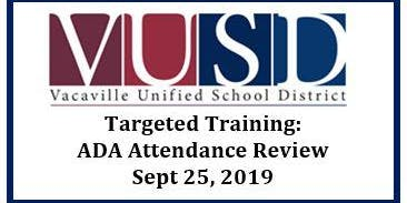 Targeted Training: ADA Attendance Review