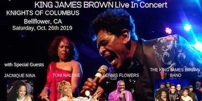 KING JAMES BROWN LIVE IN CONCERT