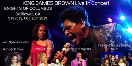 KING JAMES BROWN LIVE IN CONCERT tickets