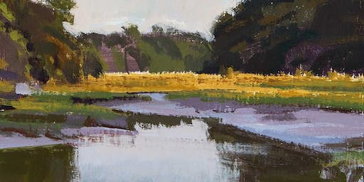 Still Waters exhibit at Marcia Burtt Gallery
