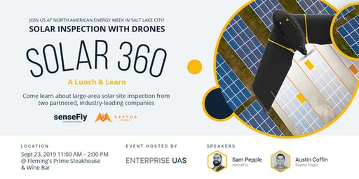 Lunch & Learn: Solar Inspection with Drones at Day One of Smart Energy Week