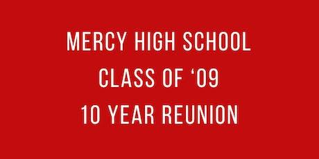 MHS Class of '09 Reunion tickets