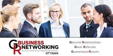 NEW Ottawa business networking breakfast  in Carlingwood tickets