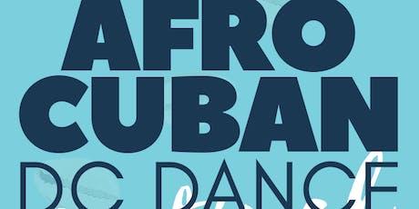 AfroCuban DC Dance Festival 2019 tickets