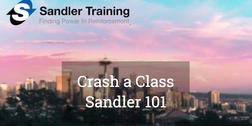 Crash a Class: Sandler Selling 101