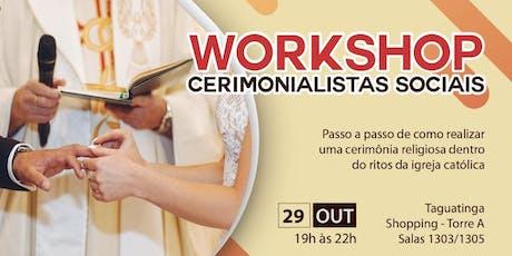 Workshop Ritos Católicos para Cerimônia de Casamento ingressos