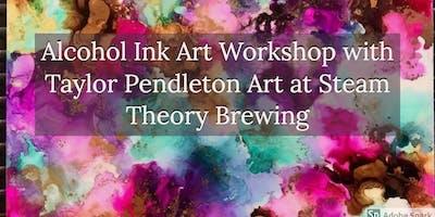 Alcohol Ink Art Workshop
