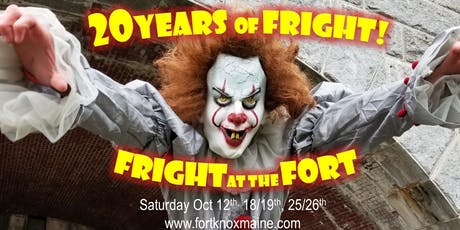 Fright at the Fort 2019 - 20 Years of Fright tickets