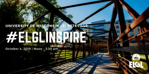 #ELGLInspire at University of Wisconsin - Platteville