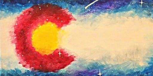 Paint Wine Denver Cosmic Colorado Wed Nov 27th 6:30pm $35