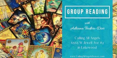 Group Psychic Tarot Reading with Adriana Teodoro-Dier tickets