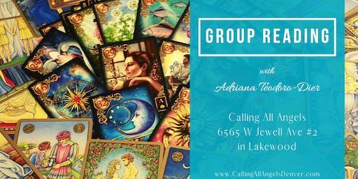Group Psychic Tarot Reading with Adriana Teodoro-Dier