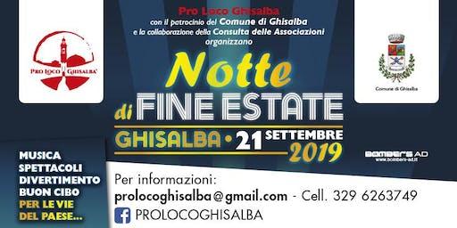 Notte di fine estate - Ghisalba (BG)
