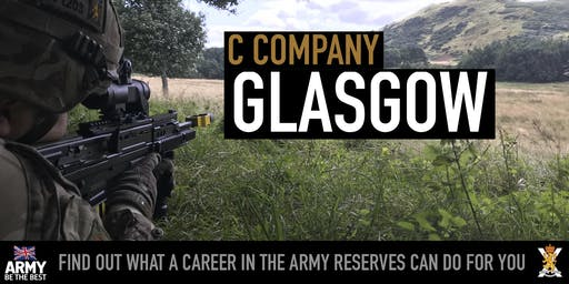 Army Reserves Insight Event - Glasgow