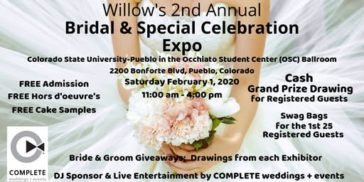 Willow's Bridal & Special Celebration Expo