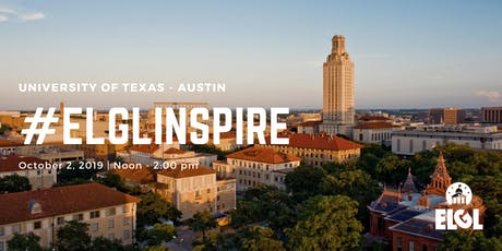#ELGLInspire at University of Texas - Austin tickets