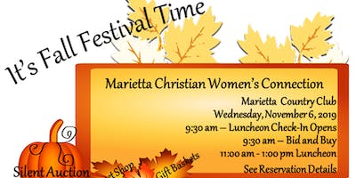 YOU'RE INVITED to the Marietta Christian Women's Connection Luncheon!