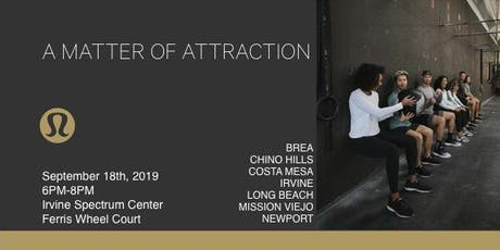 A Matter Of Attraction tickets