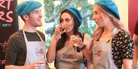 ART SIPPERS - Paint & Sip Experience - EALING tickets
