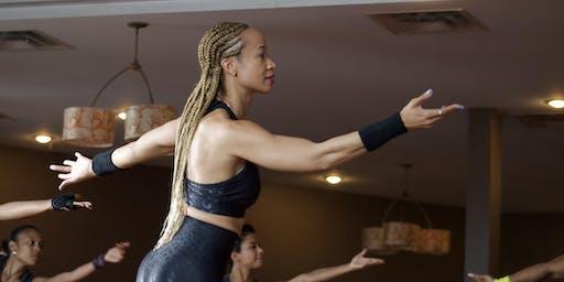 Embracing the Power of Joriki through the Kettlebell Diva Workout