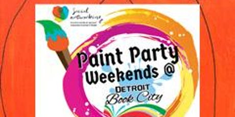 "KIDZ Paint Day!  ""Pumpkin Time"" ~ Social Artworking at DBC Bookstore! tickets"