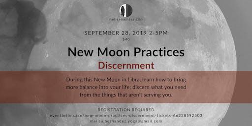 New Moon Practices: Discernment
