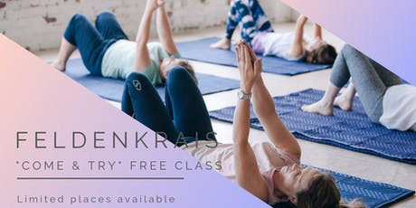 "Feldenkrais ""Come and Try"" FREE class tickets"