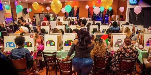 Boo'd Up Couples Trap and Paint Halloween