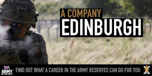 Army Reserves Insight Event - Edinburgh